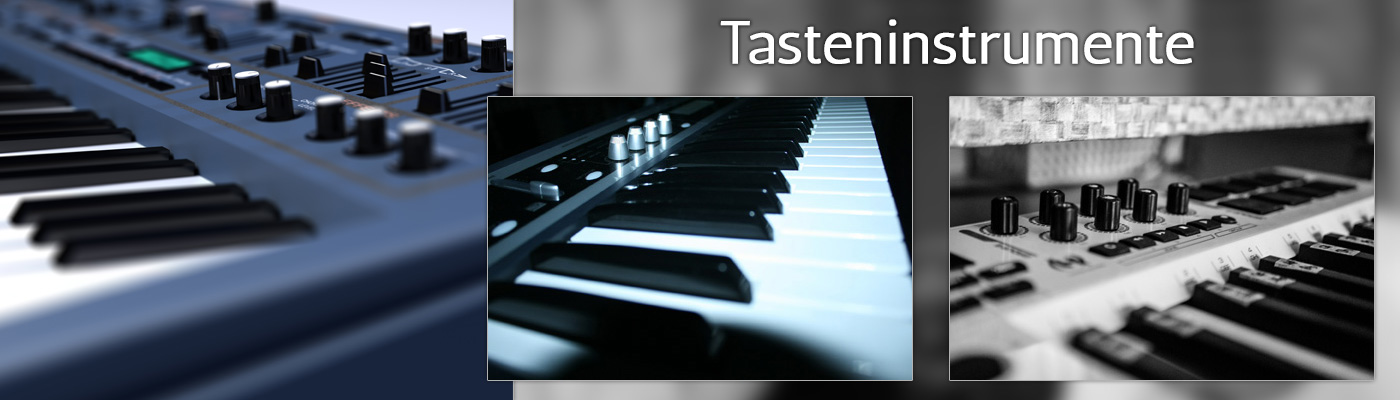 Tasteninstrumente, Keyboards, Synthesizer und Pianos