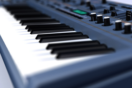Tasteninstrumente, Keyboards, Synthesizer, Pianos
